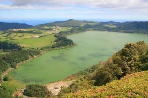 Azores Lagoa Das Furnas in Azores